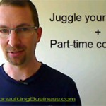 How to juggle your day job and part-time consulting video